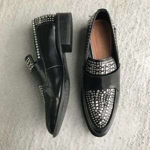 Zara Studded Loafer